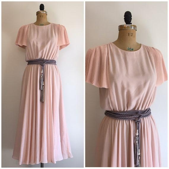 Vintage 1980s Pierre Cardin Boutique Dress 80s Pin