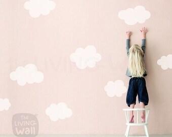Clouds Nursery Wall Decals, Cloud Wall Sticker Kids Room Decor Wall Art, Australian made