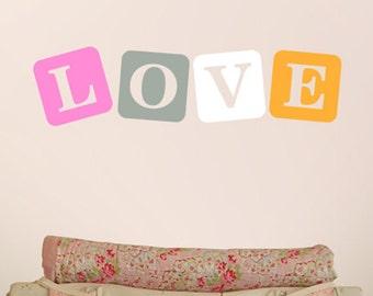 Vinyl Wall Sticker Decal Home - Love