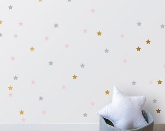 Stars Wall Sticker home decoration Wall Decals, Christmas Accessories Baby Nursery Decor Removable Vinyl Australian made