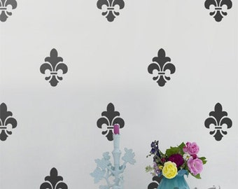 Vinyl Wall Sticker Decal Home - Fleur de Lis