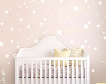 Mix Stars Wall Sticker Decal Home, Star Pattern Wall Decals Christmas Wall Art Kids Room