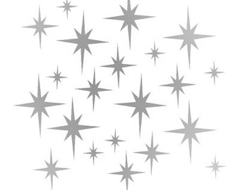 Twinkle Twinkle Little Star wall decal for baby room nursery, Christmas Decoration wall decals