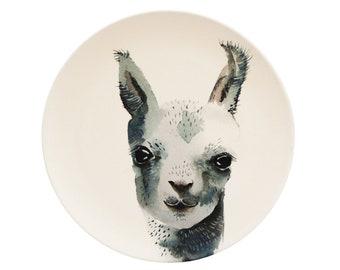 Kids Plate llama