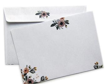 enveloppes de la fleur
