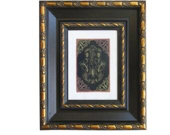 Hamsa Wall Art, Judaica Art, Framed Judaica, 7 Species, Hamsa, Embroidery, Hamsa Gift, Hamsa Hand, Home decor, Original Israeli Embroiderey