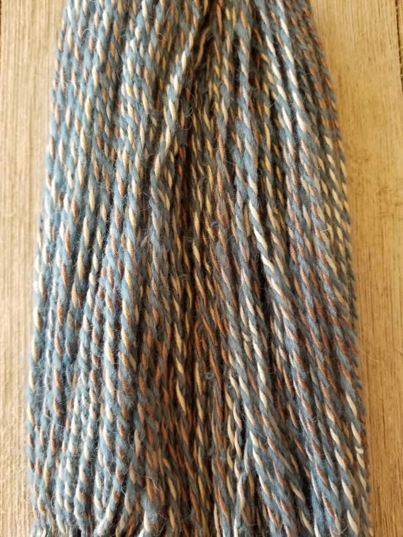 Handspun Yarn Ebb and Flow Worsted Weight image 0