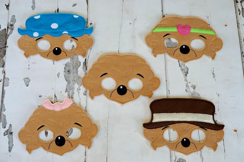 Berenstain Bear Masks image 0
