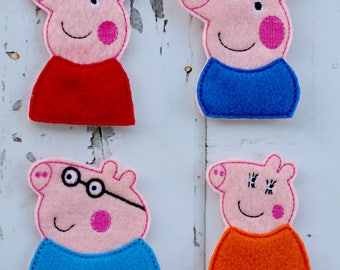 Pepper Pig Finger Puppets