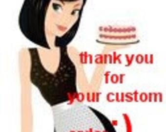 Buy an Custom Order Apron listing