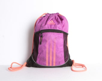 16cdd9d2ec1a vintage ADIDAS sportswear active wear MINI BACKPACK club kid mid 90s vintage  backpack