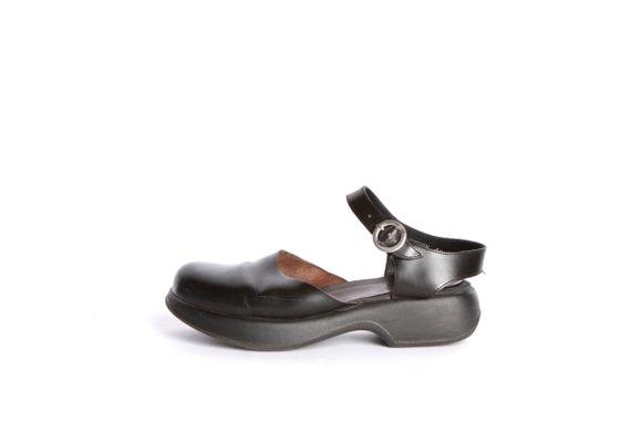 WOMEN'S clogs leather BOHEMIAN size designer platform 9 vintage sandals women's 7wHvx6qWYy