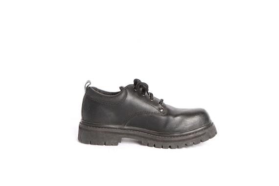 7 shoes PLATFORM martens vintage black DOC size SKECHERS grunge style womens 5 q5SC6npxnB