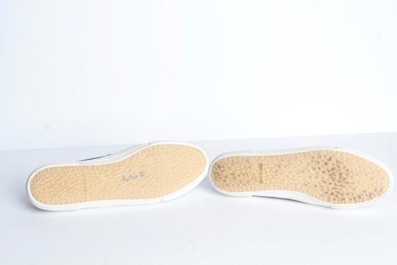 8 shoes white up women's CORDUROY BLUE style KEDS 90s size amp; lace flats dxqgUTaAdw