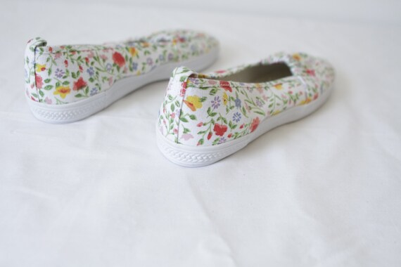 women's oxford 8 style size shoes BRIGHT FLORAL on slip ked summer xwpTtEqS
