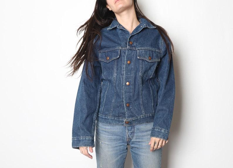 Vintage Deadstock Blue Denim Jacket