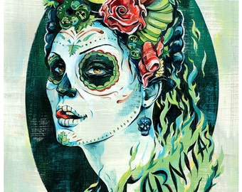 Day of the Dead Lady, Carnitas