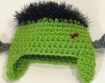 Frankenstein Halloween Baby Beanie Hat