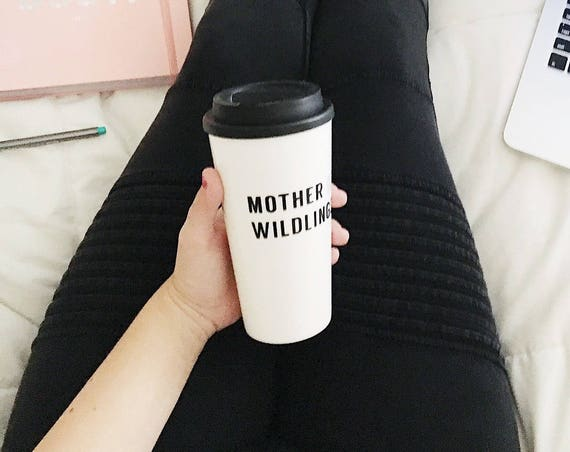 Mom Mug With Sayings, Quote Mug, Mother Of Wildlings, Mother Of Dragons, Travel Mug, Gift For Women, Mom Gift For Her, Travel Coffee Cup