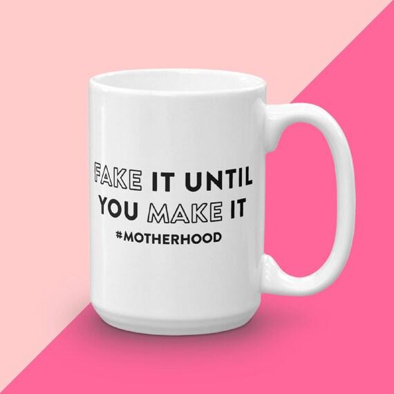 Mom Life, Motherhood Mug, Quote Mug, Ceramic Coffee Mug, Unique Mug Gift, Gift For Mom, Funny Cups For Moms, Gift For Her, Coffee Mug Gift