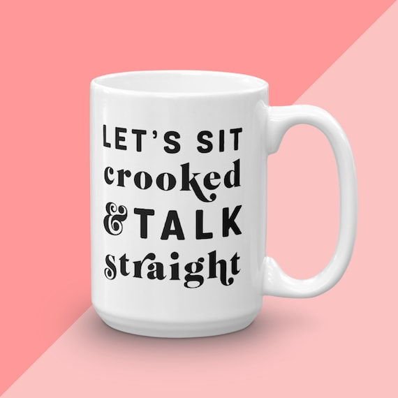 Murderino Mug, My Favorite Murder, Let's Sit Crooked And Talk Straight, SSDGM Karen Georgia, Hometown Murder, You're In A Cult Call Your Dad