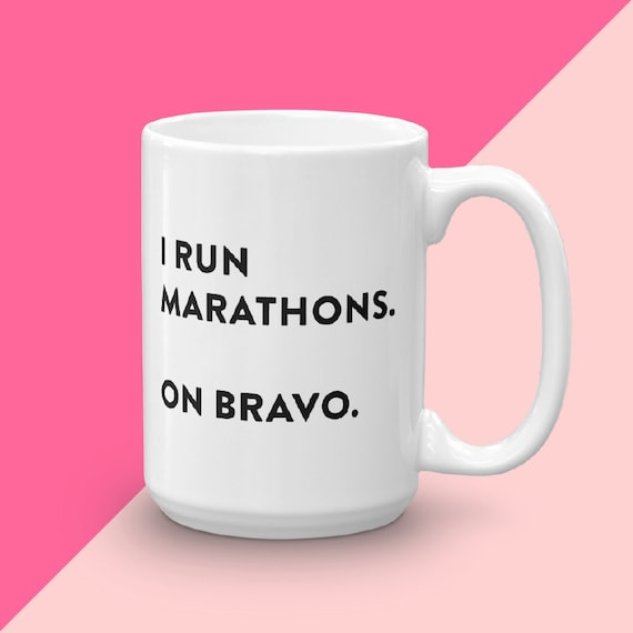 Bravo TV Gift, Andy Cohen Pump Rules, RHOBH Housewives of New York, Marathons On Bravo, Below Deck, Gift For Her Under 25, Coffee Mug With