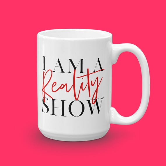 Reality TV Lover Gift, Real Housewives Podcast Mug, Gift For Her, Kandi Kim Cynthia, RHONY RHOA, Coffee Gift Under 25, Reality Life Show Mug