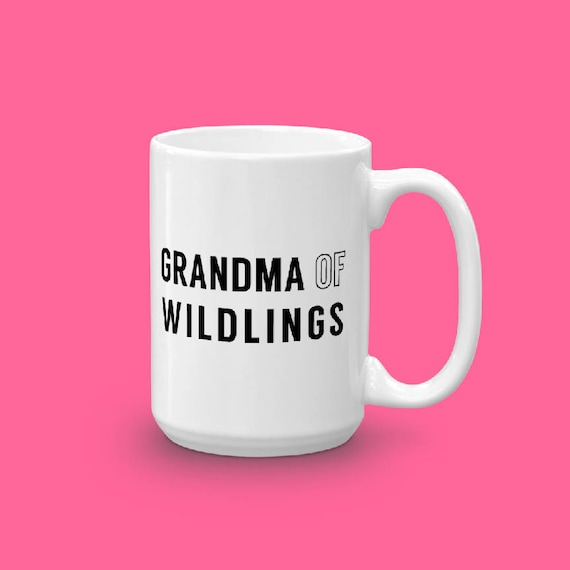 Grandma Gift, New Grandma, Grandma Of Wildlings, Nana Nonna Gift, Grammy Gifts, Grandparents Day Gift, Grandmother Gift From Kid Grandchild
