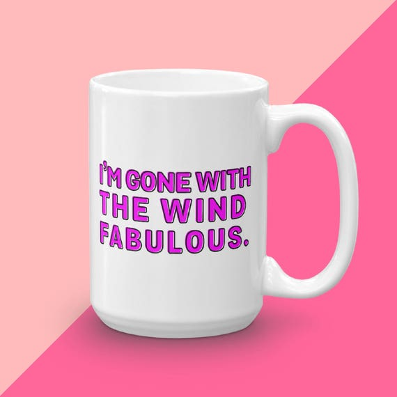 Gone With The Wind Fabulous, Real Housewives Of Atlanta, Kenya RHOA, Gift Under 20, Reality TV Gift, Real Housewives Gift, Kenya Moore twirl