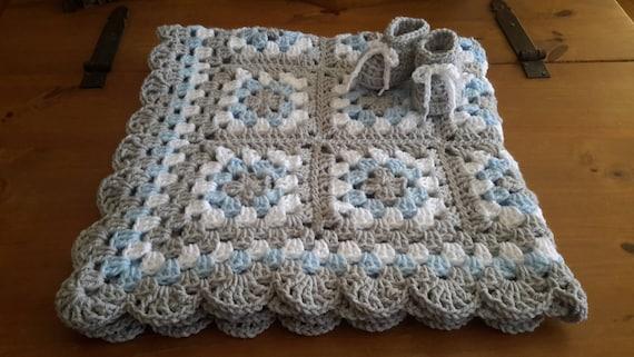 Häkeln Sie Baby Decke Häkeln Baby Afghan Oma Platz Etsy