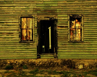 Light Theory #9 - Fine art photograph of house in Indiana - photo print