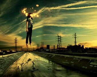 Light Theory #1 - Fine art  photograph - City - photo print - unframed