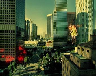 Light Theory #2 - Fine art photography - Cityscape Photo Print - Unframed