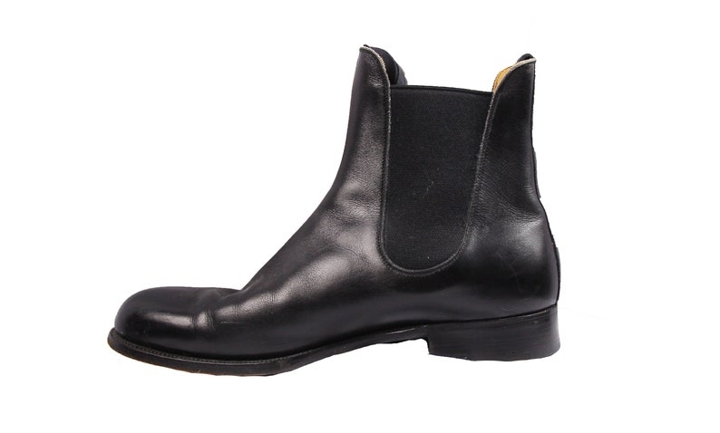 f941323153a4 Vintage J M Weston Chelsea French Designer Handmade Boot | Etsy
