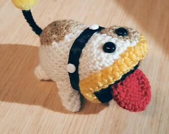 Yarn Poochy Plush - Yoshi's Woolly World