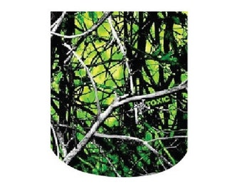 Waterslide Full Nail Decals Set of 10 - Green Mossy Oak Realtree Camo