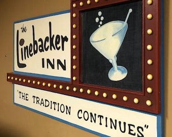 Custom Vintage Style Pub, and Replica Advertising Decor Signs