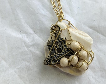 Castles Made of Sand necklace