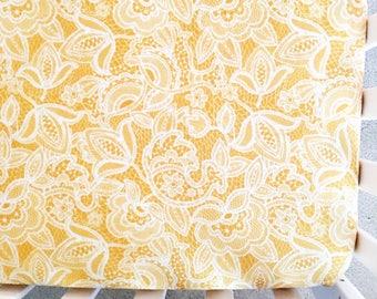 Mustard Crib Sheet. Cotton Crib Sheet.Minky Crib Sheet.Lace Cot Sheet. Girl Crib Bedding. Baby Girl Bedding. Girl Crib Sheet. Gift Under 100