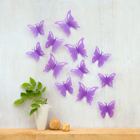 Butterfly Wall Decor SALE Girlu0027s Room Decor Nursery   Etsy