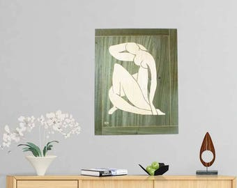 Home Decor Wall Art, Wall Decorating, Gift Home Art, Wooden Wall Art,  Bedroom Wall Decor, Gifts Decor Idea, Contemporary Art, Decorative Art