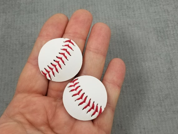 Overmont Softball Baseball Synthetic Leather Baseballs White