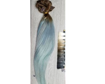 Clip In Human Hair Extensions full set