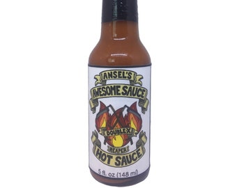 Hot Sauce - XXHot - Original - Ghost/Scorpion/Reaper/Habanero - Hand crafted small batches - All local ingredients - Exceptionally delicious