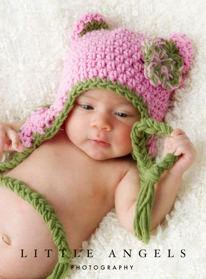 a22c26b5197 Bright Colors Bear Hat Crochet Pattern 400