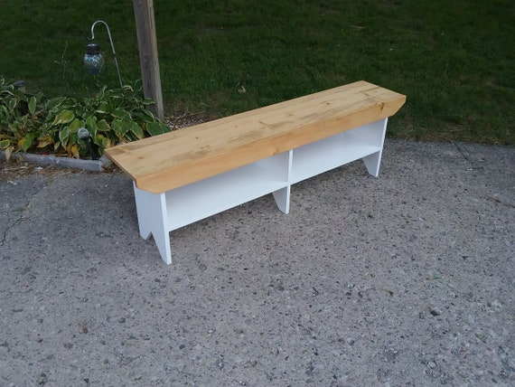 Prime Wooden Bench Country Style Entryway Bench Mudroom Bench Bench With Shelve Golden Oak And White 60 X 12 X 18T Squirreltailoven Fun Painted Chair Ideas Images Squirreltailovenorg