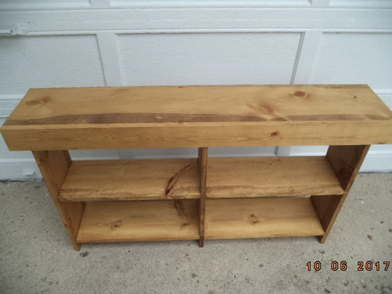 Console Table Sofa Table Entryway Table Narrow Recycled Material Custom Made Farmhouse Style Early American 50 X 12 X 33t