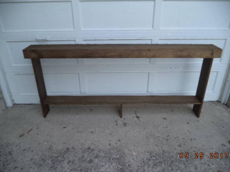 console entrée canapé table étroite frmhouse style 60 x 9 x   etsy