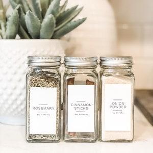 Spice Jars Etsy