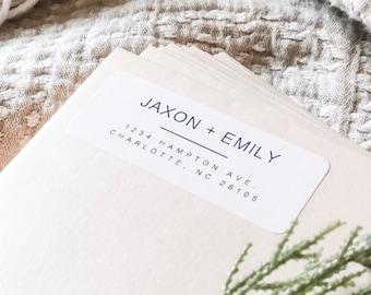 return address labels christmas